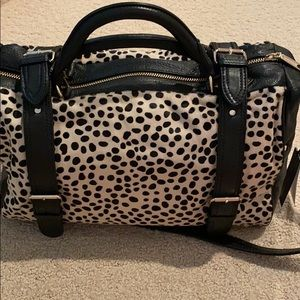 Rebecca Minkoff Delight Dalmatian Large Satchel
